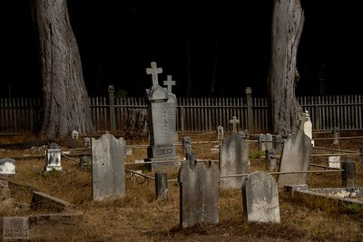 Cemetery in Northern California