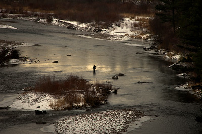 Blackfoot River Winter Fishing