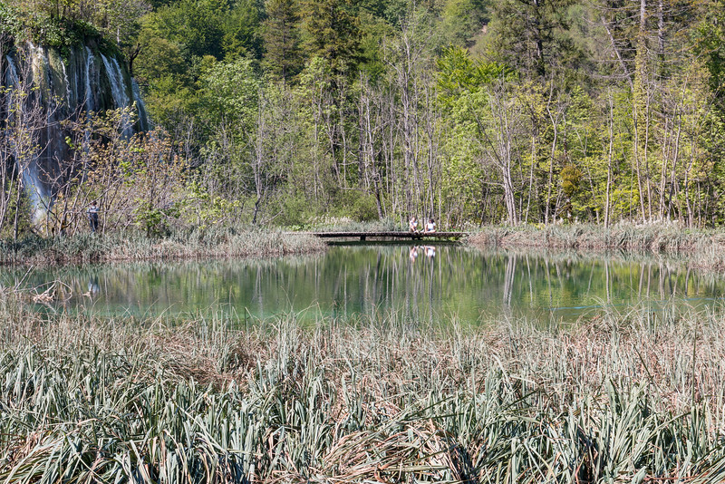 Relaxing, Plitvice Lakes National Park, Croatia