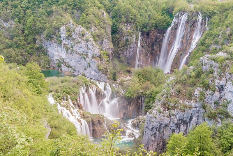 Big waterfall, Plitvice Lakes National Park, Croatia