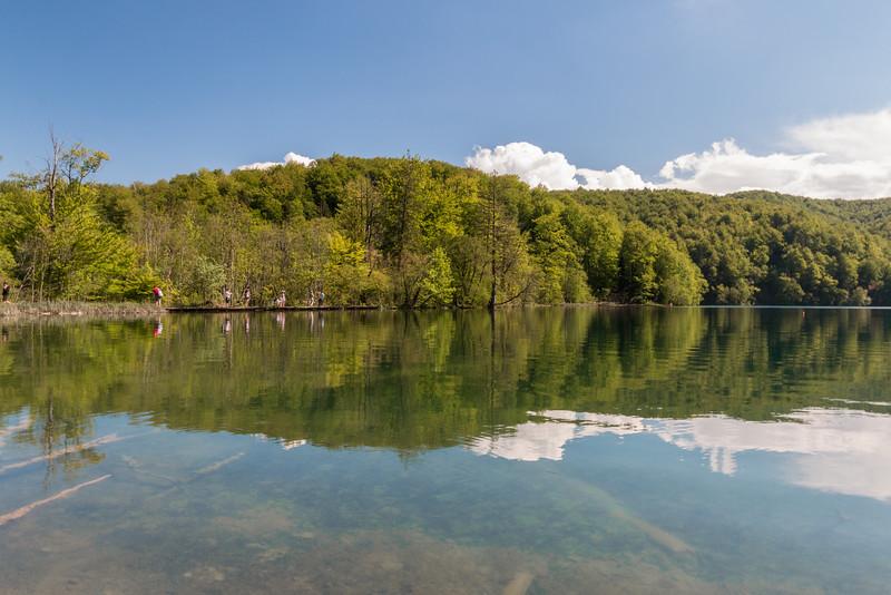 Reflections, Plitvice Lakes National Park, Croatia