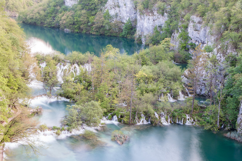 Water everywhere, Plitvice Lakes National Park, Croatia