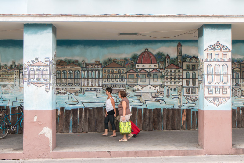 Street art in Cienfuegos, Cuba