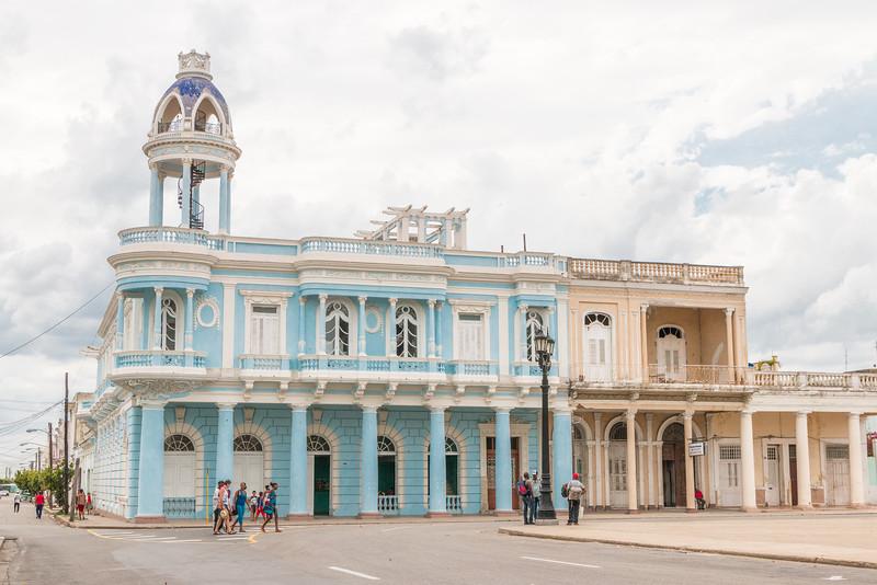 Colonial architecture in Cienfuegos