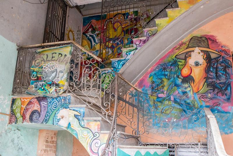Building Art, Havana, Cuba