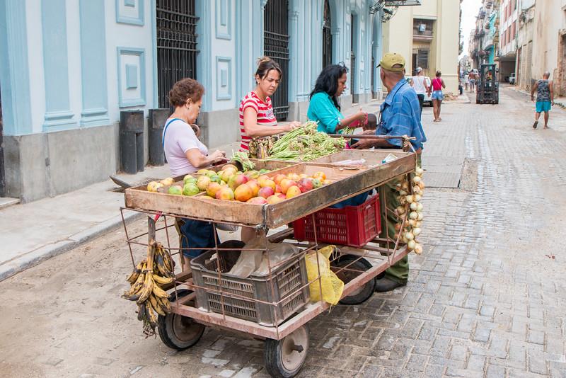 Street vendor, Havana, Cuba