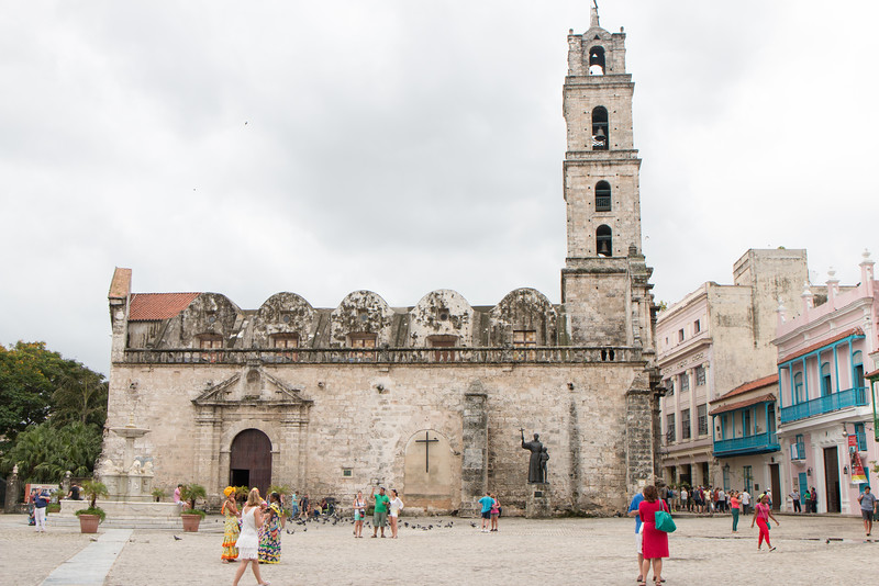 Iglesia San Francisco, Havana, Cuba