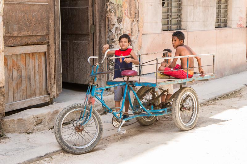 Kids playing, Havana, Cuba