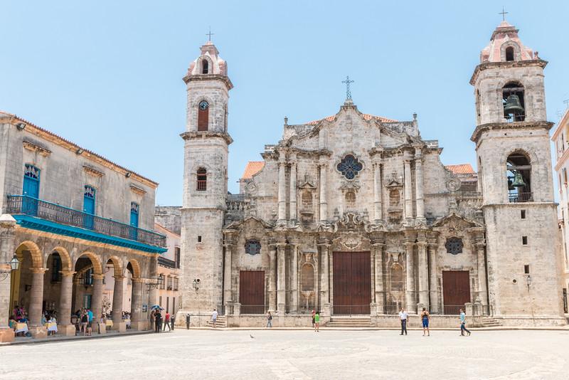 Plaza de la Catedral, Havana, Cuba