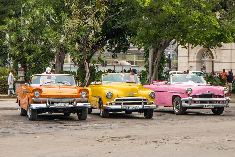 The famous classic cars, Havana, Cuba