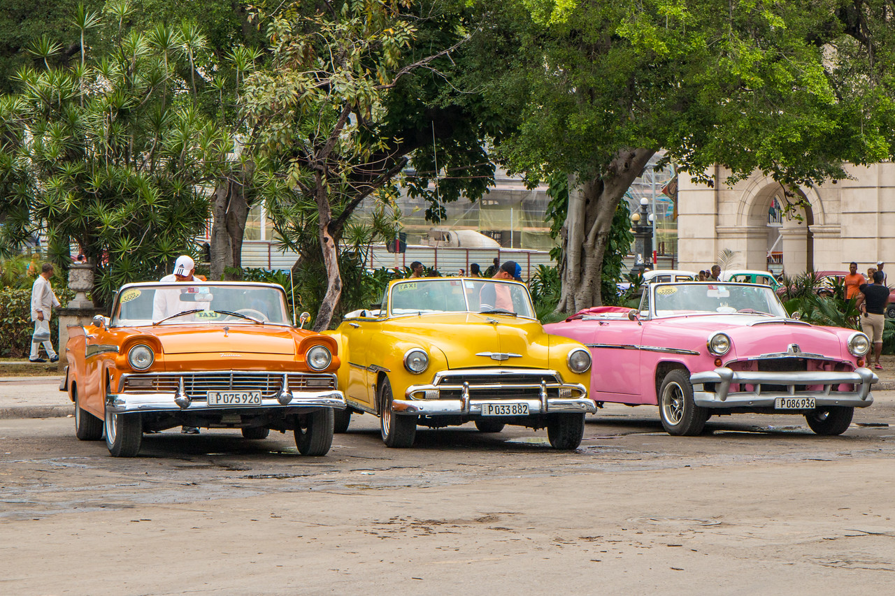 Classic cars for tourists