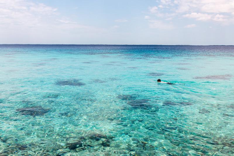 Snorkeling, Península de Zapata, Cuba