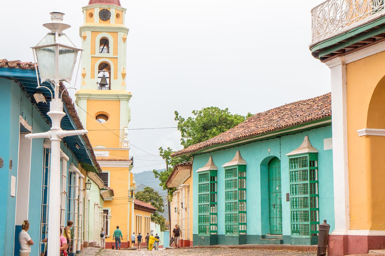 Beautiful streets of Trinidad