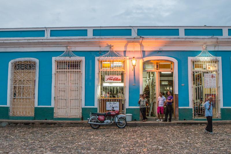 Evening out in Trinidad, Cuba