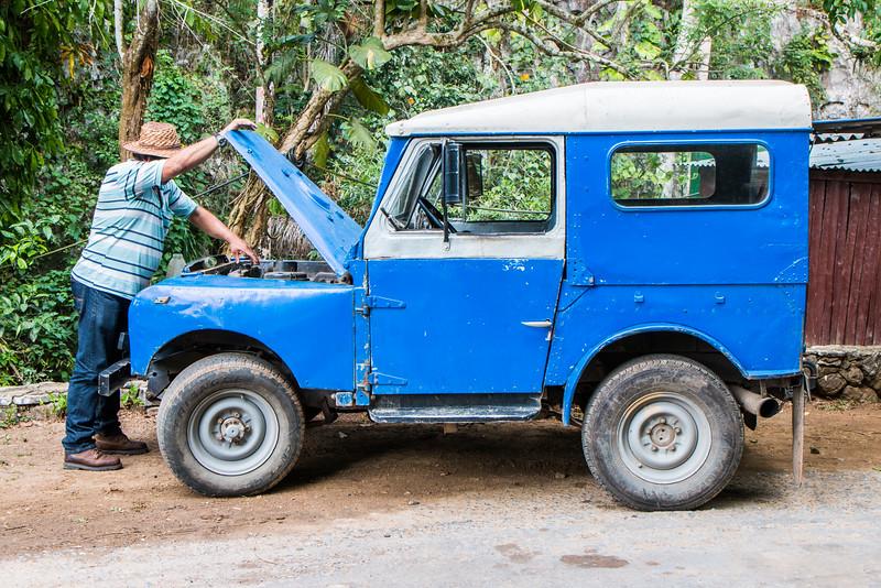 Car, Valle de Viñales, Cuba