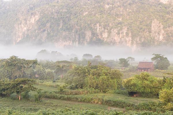 Vinales morning mist