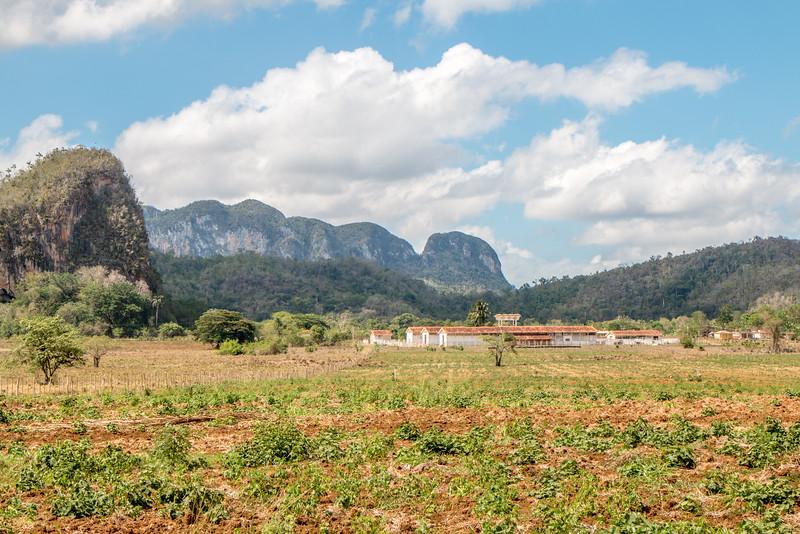 Farm and Mogotes, Valle de Viñales, Cuba