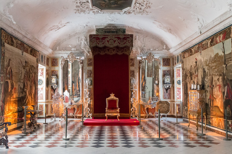 Throne, Rosenborg, Copenhagen