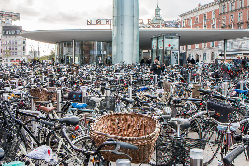 Bicycles, Copenhagen