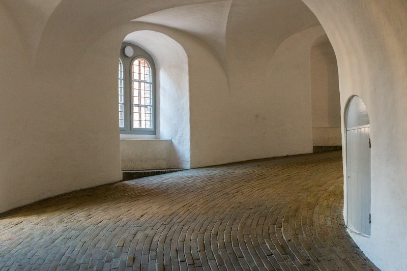 The interior of the Round Tower, Copenhagen