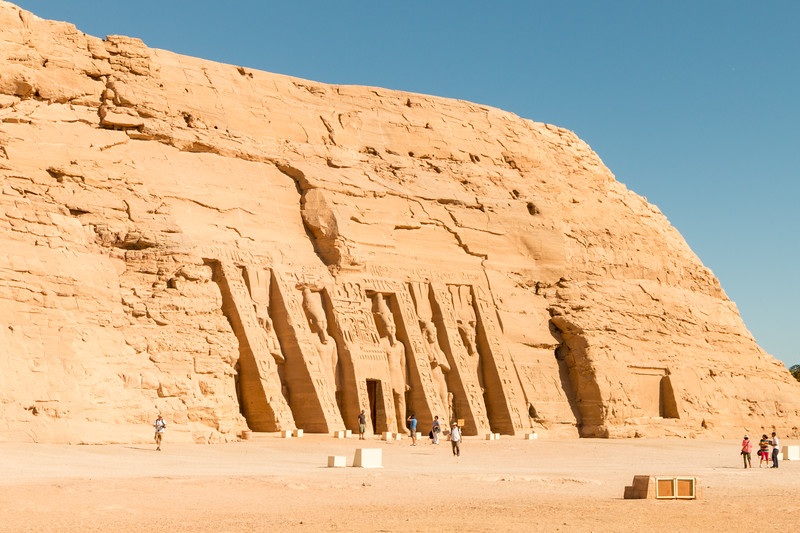 Temple of Nefertari, Abu Simbel, Egypt