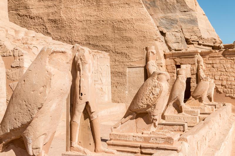 Horus, Abu Simbel, Egypt