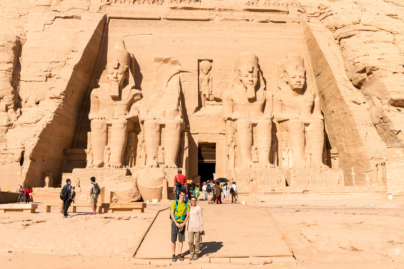Breathe With Us at Abu Simbel, Egypt