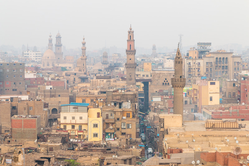 Views from Bab Zuweila, Cairo