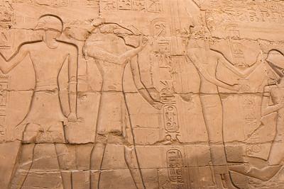 A wall in Karnak