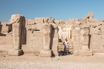 Cristina in Karnak