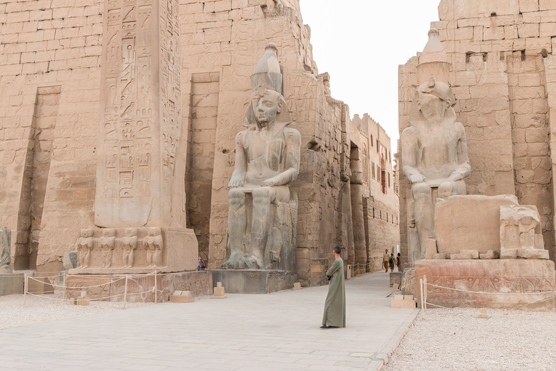 Incredible Luxor Temple, Luxor, Egypt