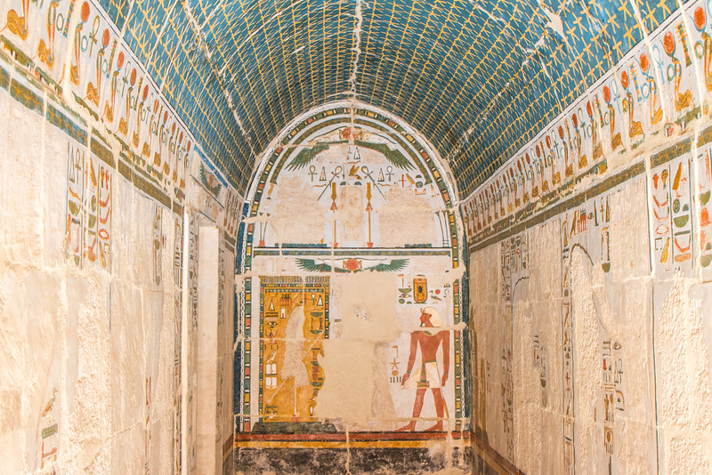 Incredible Colors, Hatshepsut Temple, Luxor, Egypt