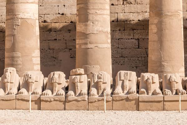 Karnak entrance