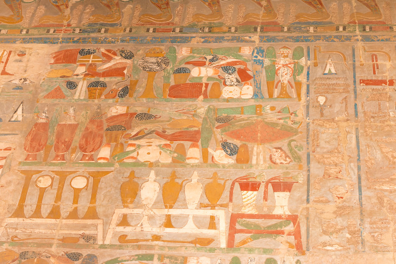 Interior, Temple of Hatshepsut, Egypt
