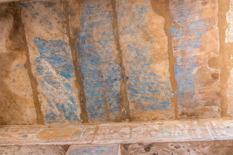 Fading colors, Karnak, Luxor, Egypt
