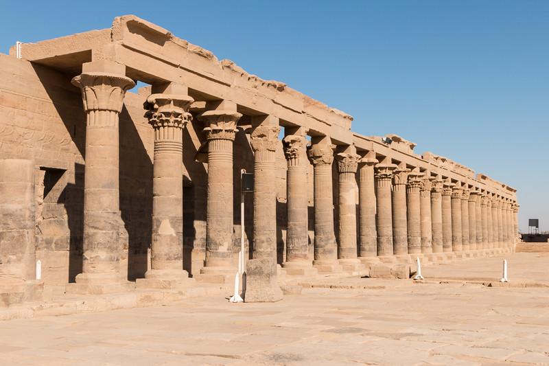Columns, Philae, Egypt