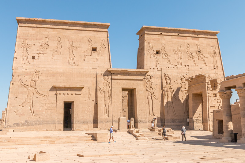 First Pylon, Philae, Egypt