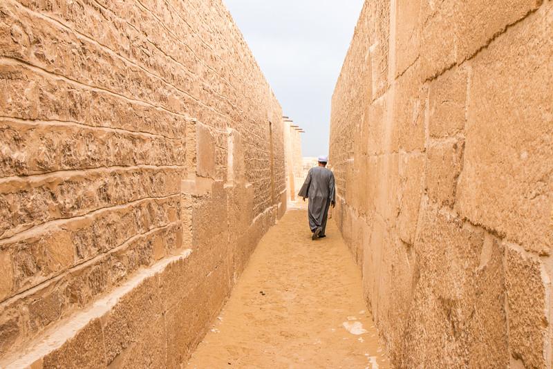 Exploring Saqqara, Egypt