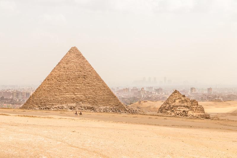 Pyramid of Menkaure, Egypt