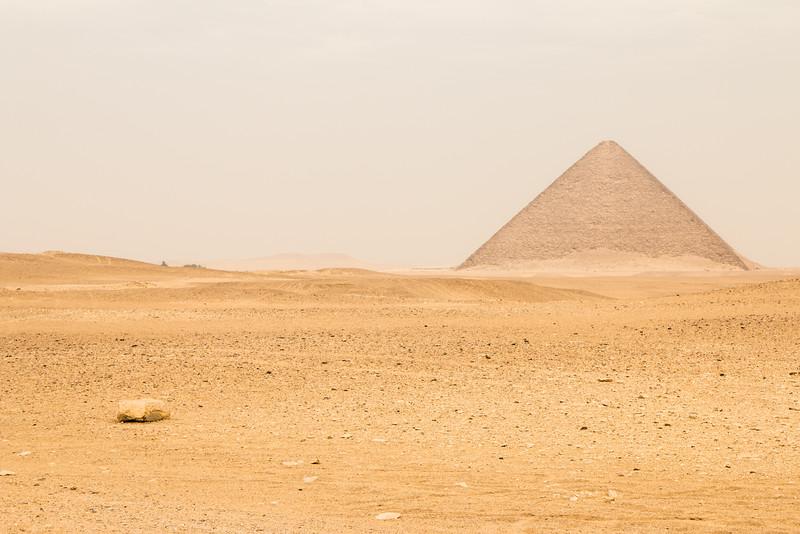 Red Pyramid, Dhashur, Egypt