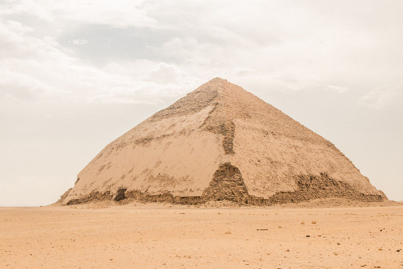 Bent Pyramid, Dhashur, Egypt