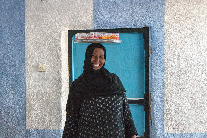 Nubian Woman, Egypt