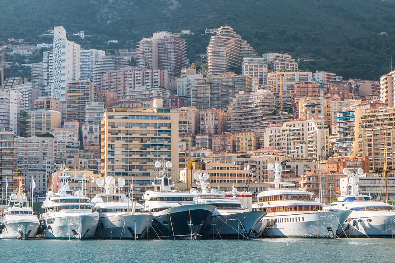Yachts, Monaco