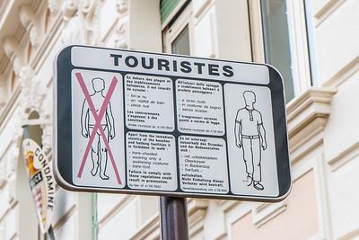 Good tourist rules