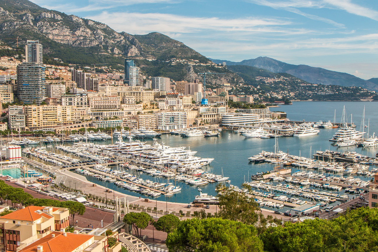 Monaco during the day