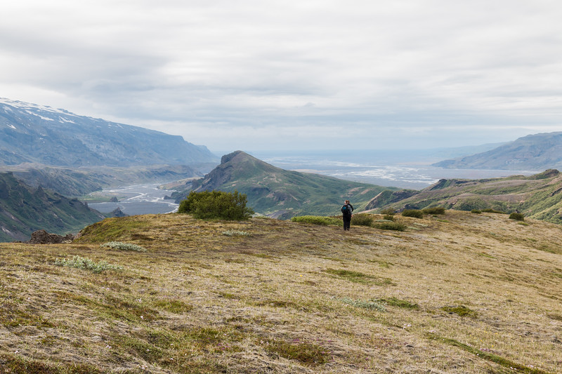 Thórsmörk landscape