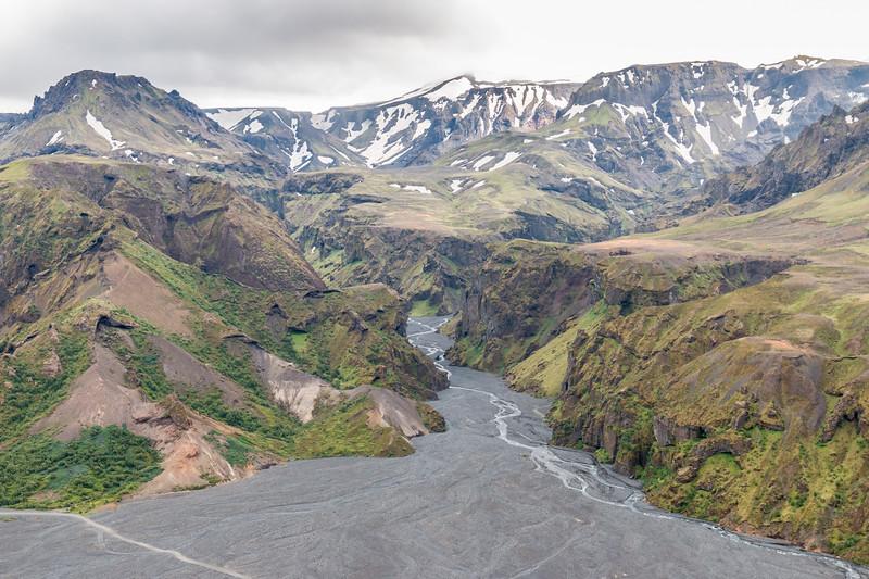 Stakkholtsgjá canyon, Thórsmörk, Iceland