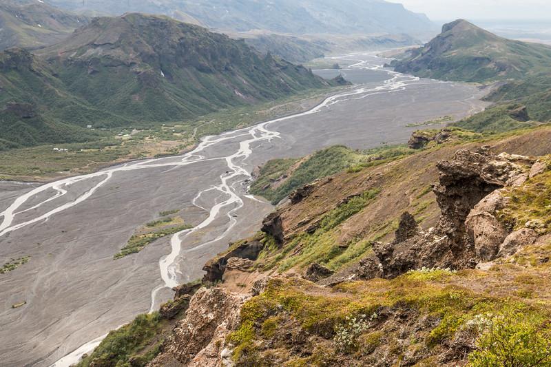 Thórsmörk views, Iceland