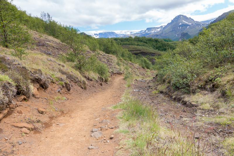 Hiking trail, Thórsmörk