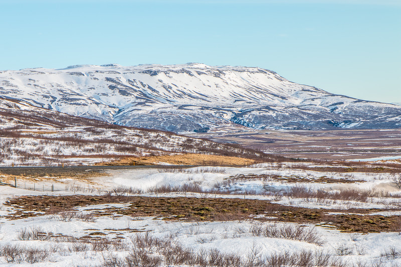 The mountains of Iceland
